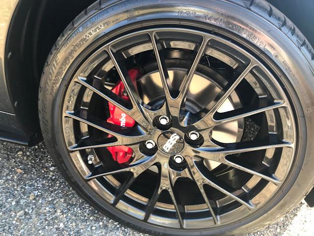 Wheel detail on 2020 Mazda MX-5 Miata Club