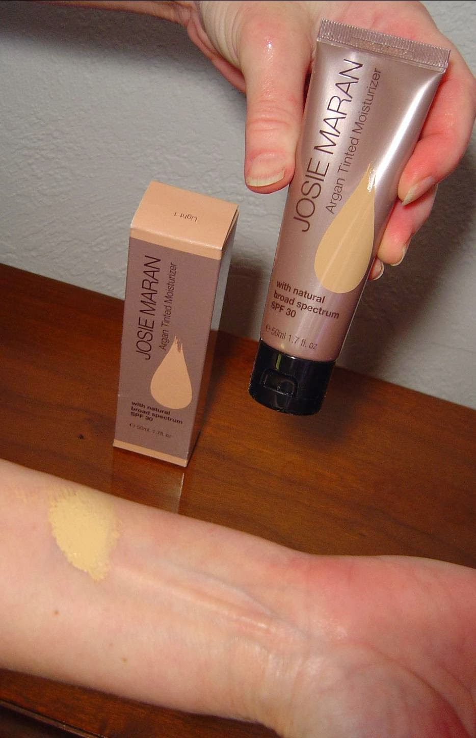 Argan Tinted Moisturizer Light 1 swatch.jpeg