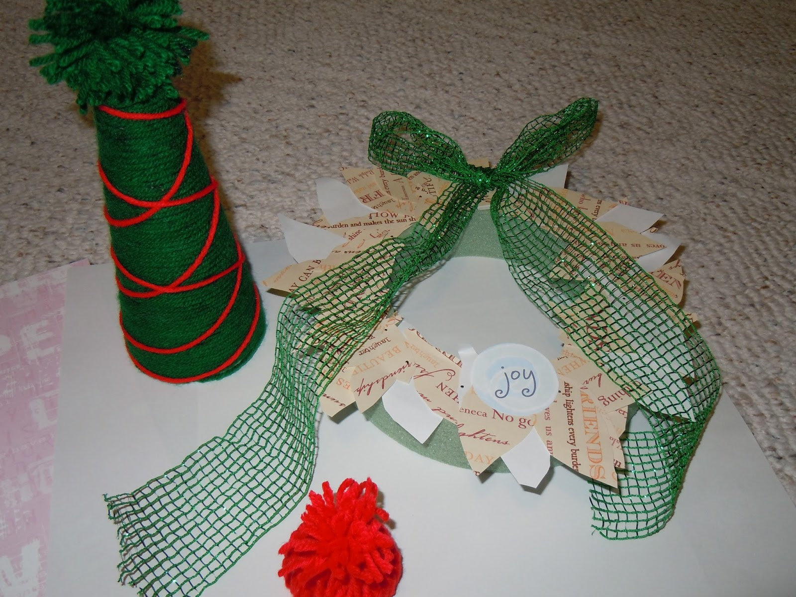 easy to make dollar store christmas crafts - Dollar Store Christmas Crafts