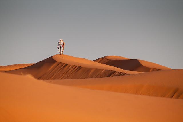 كثبان مرزوكة الرملية في المغرب