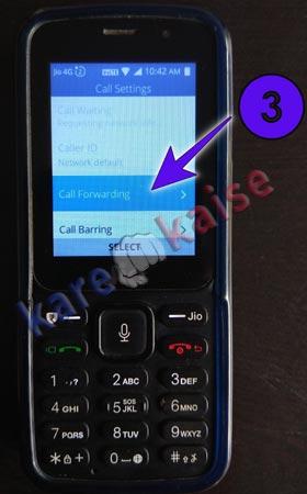 call-forwarding-option-select-kare
