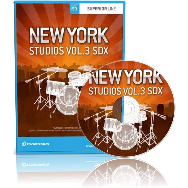 Toontrack New York Studios Vol.3 SDX Full version