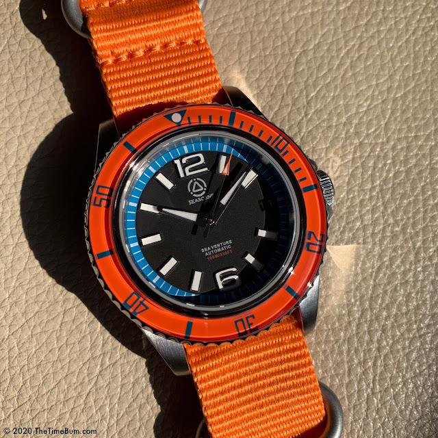 Seaborne Sea Venture Sunrise Bezel