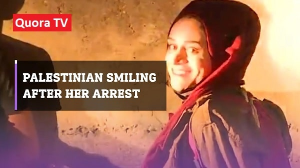 Video of Palestinian Girl Maryam Afifi Smiling at the Time of Her Arrest Goes Viral