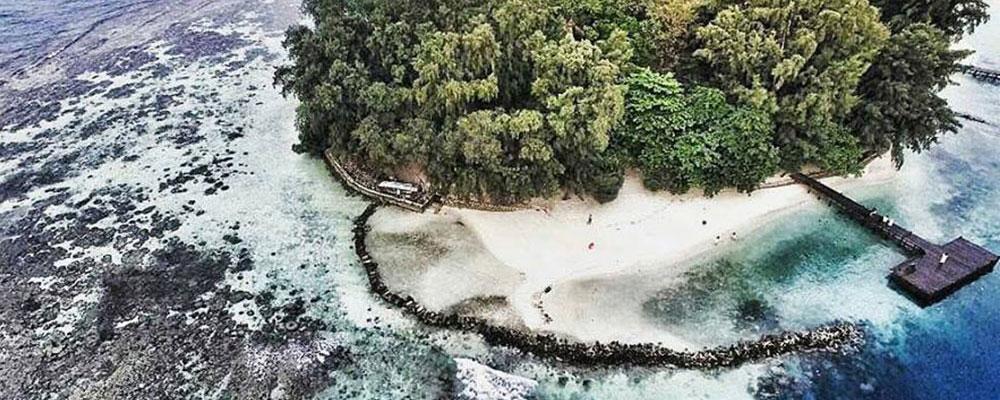 paket wisata pulau resort genteng kecil