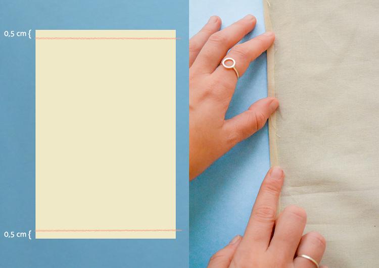 como fazer uma capa de almofada sem saber costurar