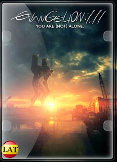Evangelion: 1.11 – Tú (No) Estás Solo (2007) DVDRIP LATINO
