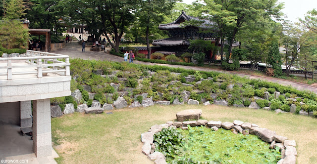 Templo budista Gilsangsa en Seúl