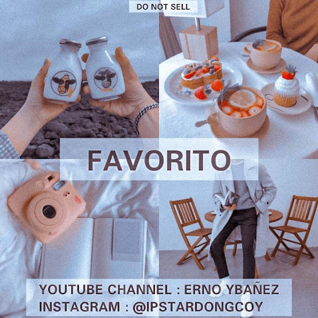 Favorito by Erno Ybañez free DNG file download - Free Lightroom presets