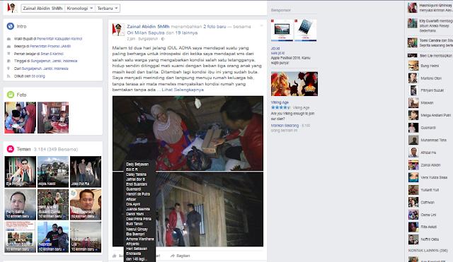 Ini Ungkapan Wabup Zainal Melihat Malangnya Nasib Ibu Nurmilis dan Tiga Orang Anaknya