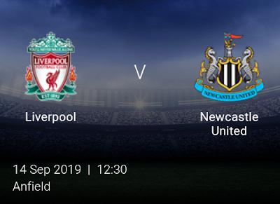 LIVE MATCH: Liverpool Vs Newcastle United Premier League 14/09/2019
