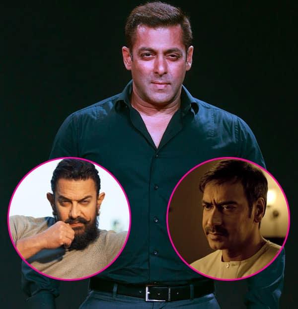 Salman Khan, Aamir Khan and Ajay Devgan