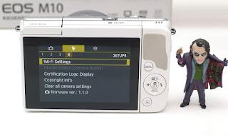 Kamera Mirrorless Canon Eos M10 Fullset