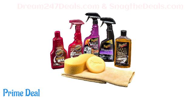 MEGUIAR'S G55012 Classic Wash & Wax Kit