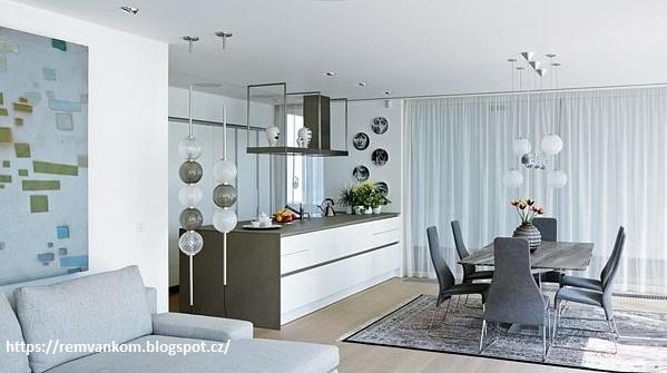 Свежий дизайн интерьера частного дома после перепланировки