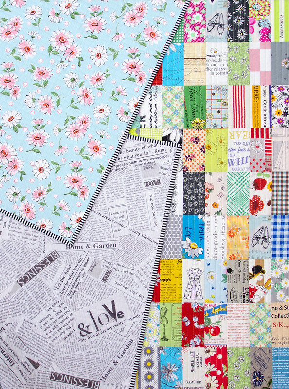 Japanese Stash Buster Quilt - A Catalog of my Japanese Fabric Stash | © Red Pepper Quilts 2019