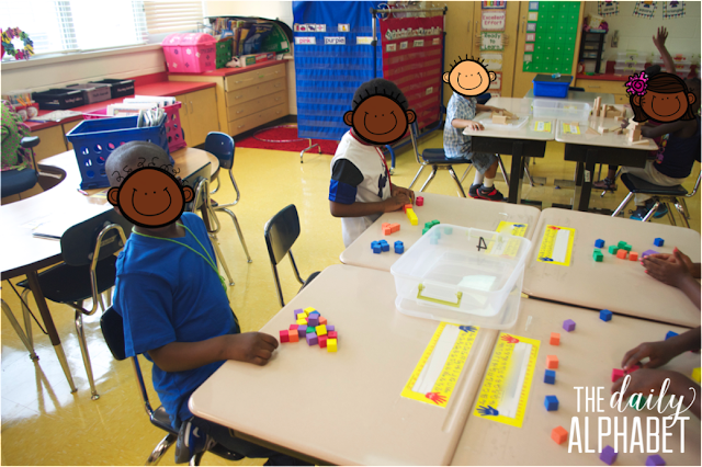 Great post about setting up centers in kindergarten!