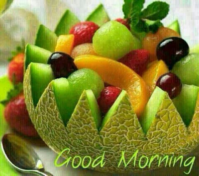 Good Morning With Fruits