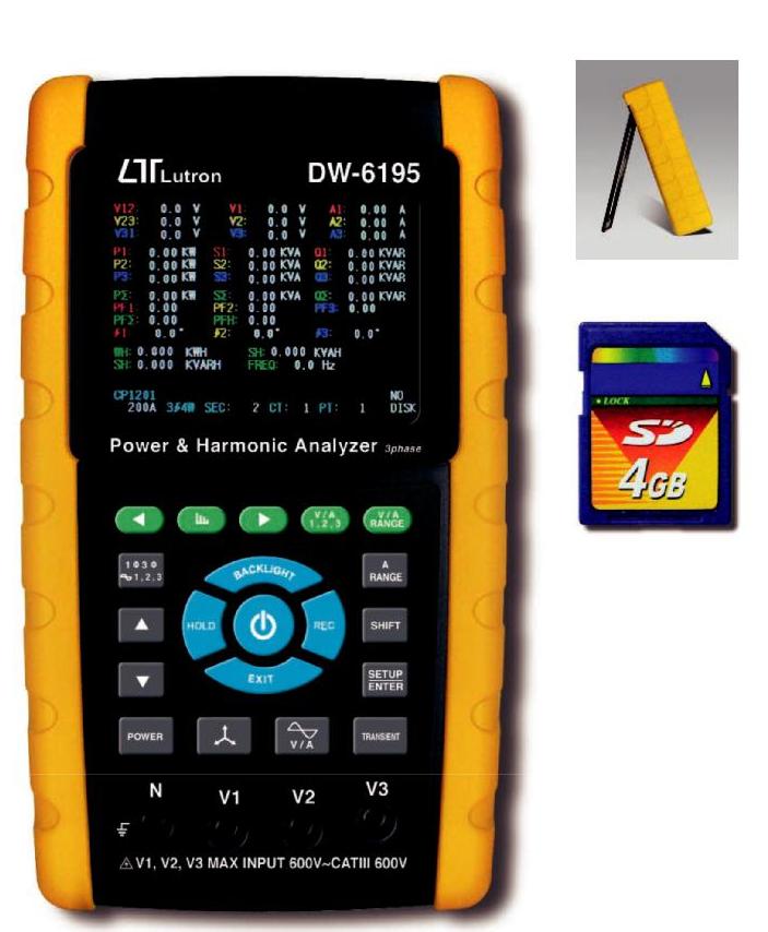Jual Lutron DW-6195 3 Phase Power Analyzer Tlp 0812-8222-998