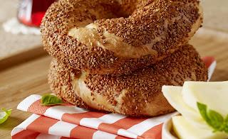 Turkish Sesame Bagel (Simit)