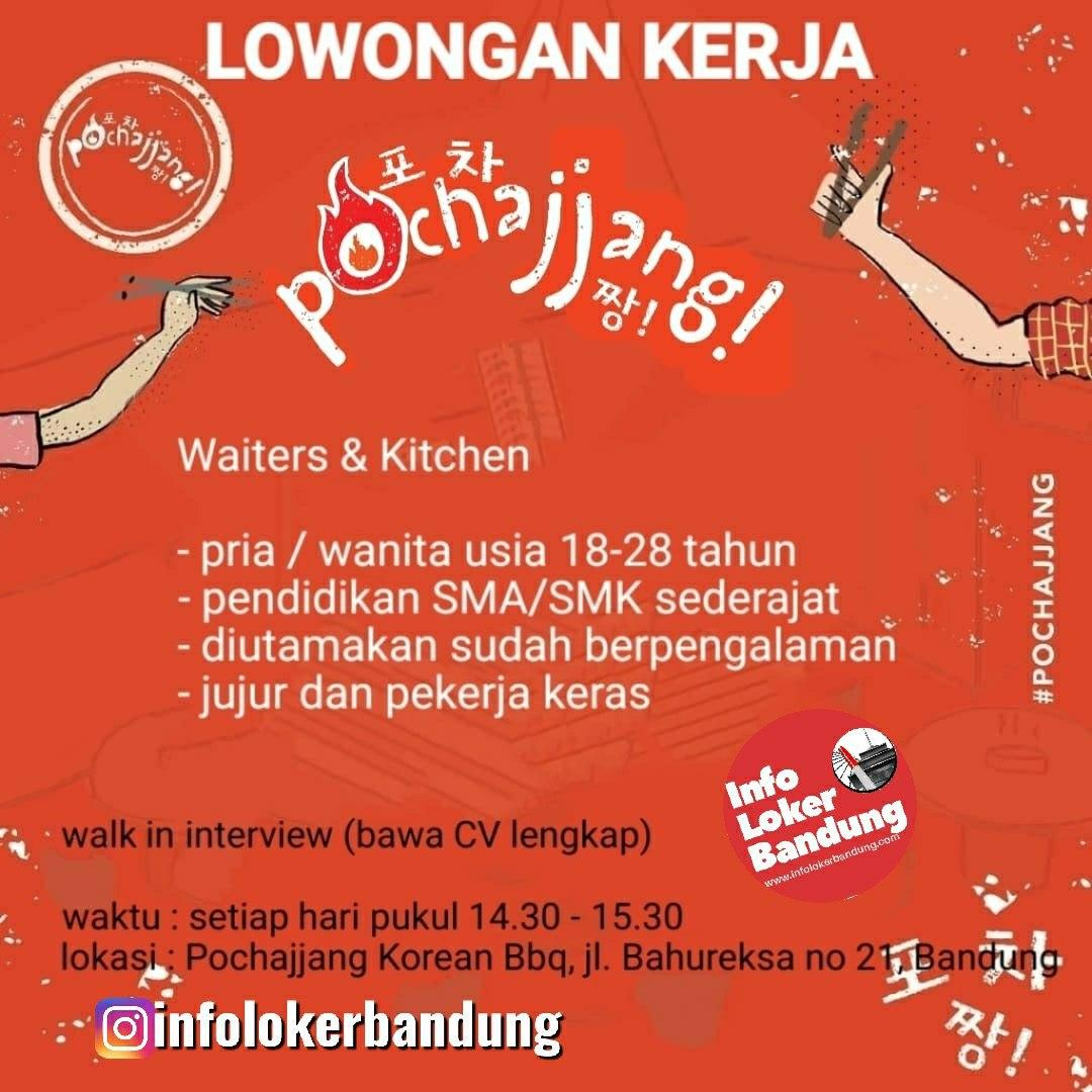 Walk In Interview Pochajjang Korean Bbq Bahureksa Bandung Januari 2020