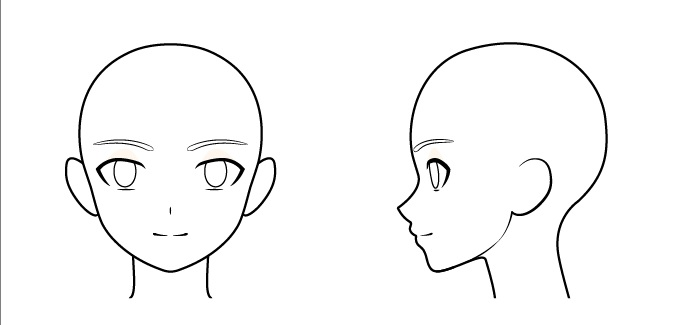 Gambar wajah anak laki-laki anime
