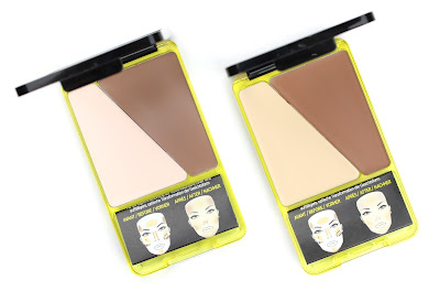 L'Oreal Infallible Sculpt Contouring Palette review swatch swatches Light/Medium Medium/Dark