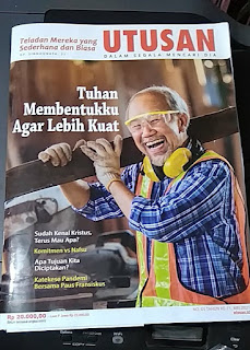 Sampul Majalah Utusan Mei 2021