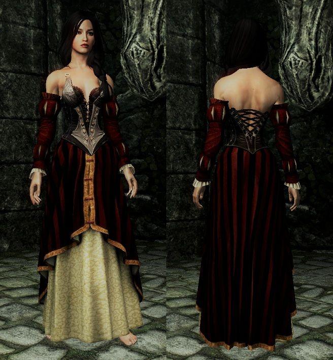 Intriguante's Wear [CBBE/UNP] ~ Eskyrim