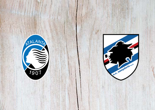 Atalanta vs Sampdoria -Highlights 08 July 2020