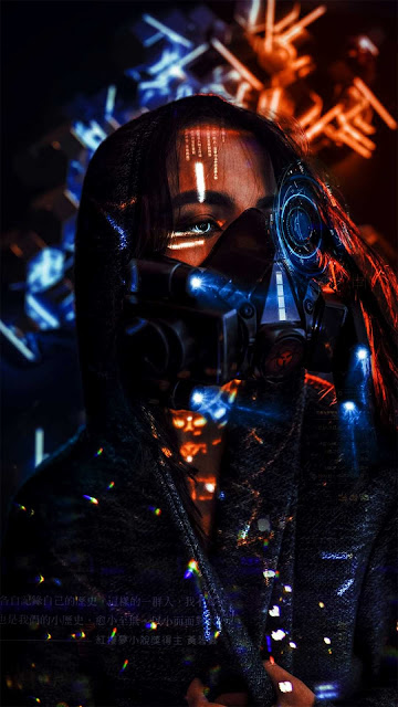19 Respirator Mask Neon HD wallpapers 4K 5K for Android and iPhone