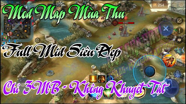Mod Map Fix Lag Liên Quân Map Mùa Thu Liên Quân Siêu Đẹp Và Mượt | HQT CHANNEL
