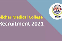 Silchar Medical College Recruitment 2021   2 MTS & Data Entry Operator Posts