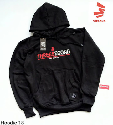 HOODIE DISTRO THREESECOND (H18)