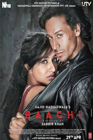 Download Film Baaghi (2016) 720p DVDscr Subtitle Indonesia