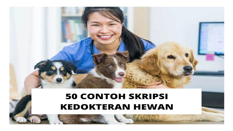 Contoh Skripsi Kedokteran Hewan