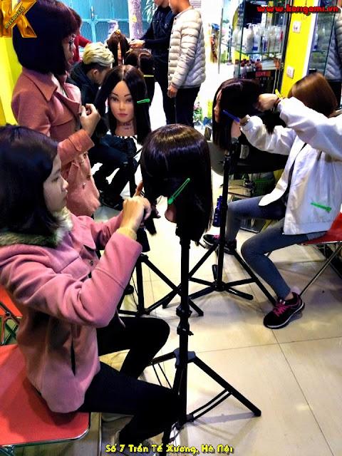 tiết học cắt tóc nữ nghệ thuật thời gian buổi chiều - tối - dành cho người bận đi làm ban ngày