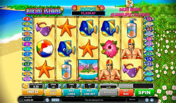 Main Gratis Slot Indonesia - Bikini Island Habanero