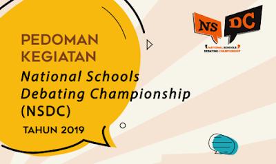 Juknis National Schools Debating Championship (NSDC) SMA Tahun 2019