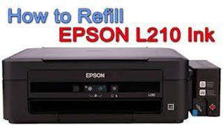 Reset Printer Epson L210
