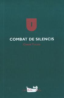 Portada del llibre de poesía de Carme Tulon: Combat de silencis