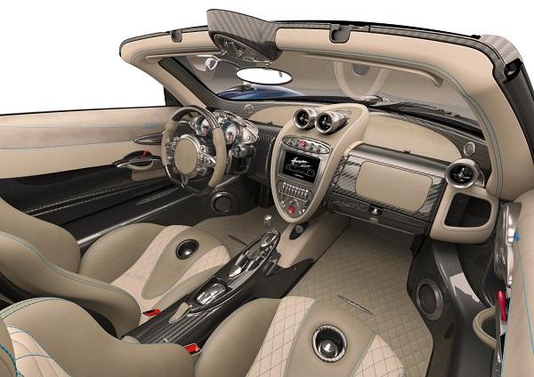 Interior Pagani Huayra Roadster