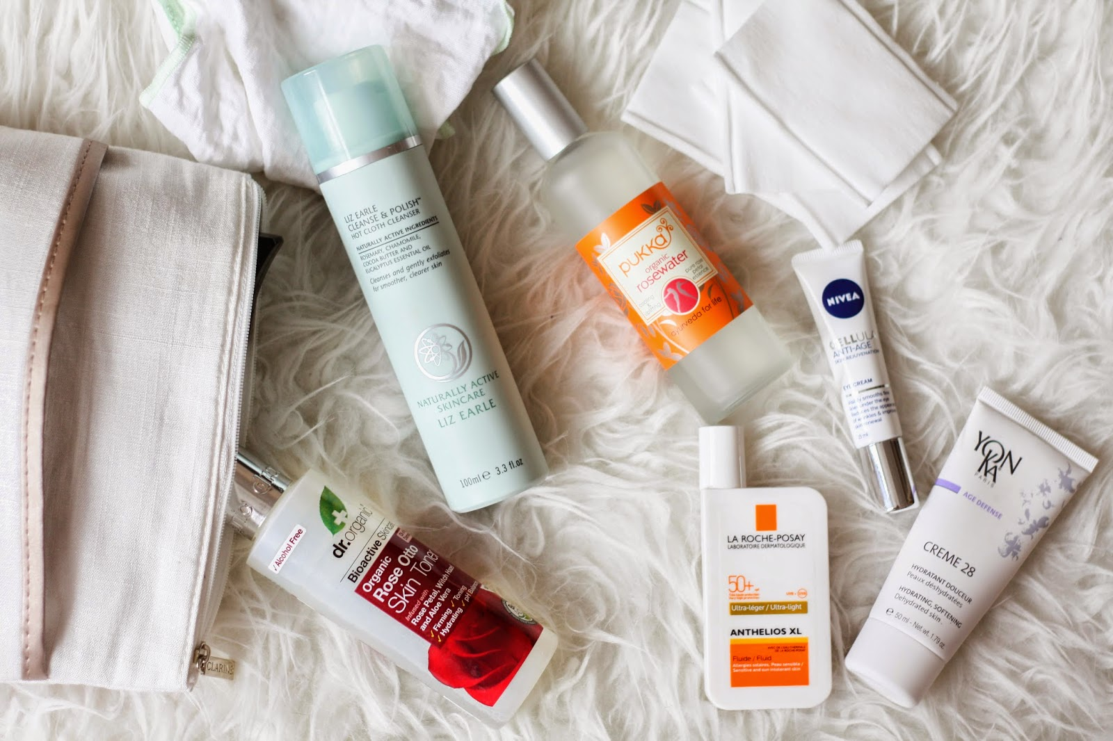 My travel skin care routine