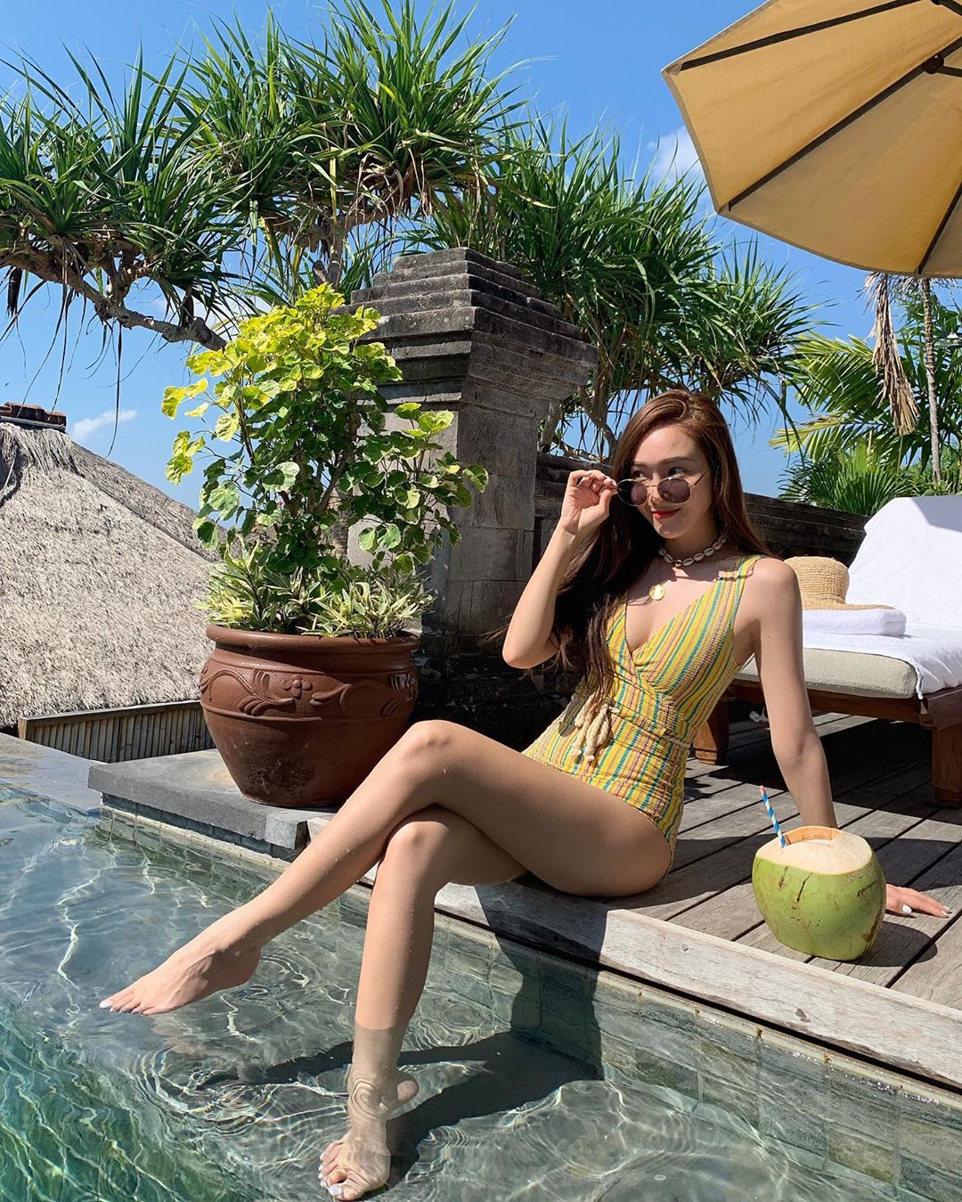 Jessica Shows Sexy Photos With Swimsuit When Vacationing -2197