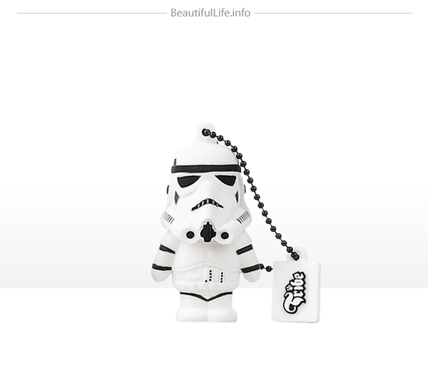 Homenaje a Star wars con memoria flash o usb- - Storm trooper
