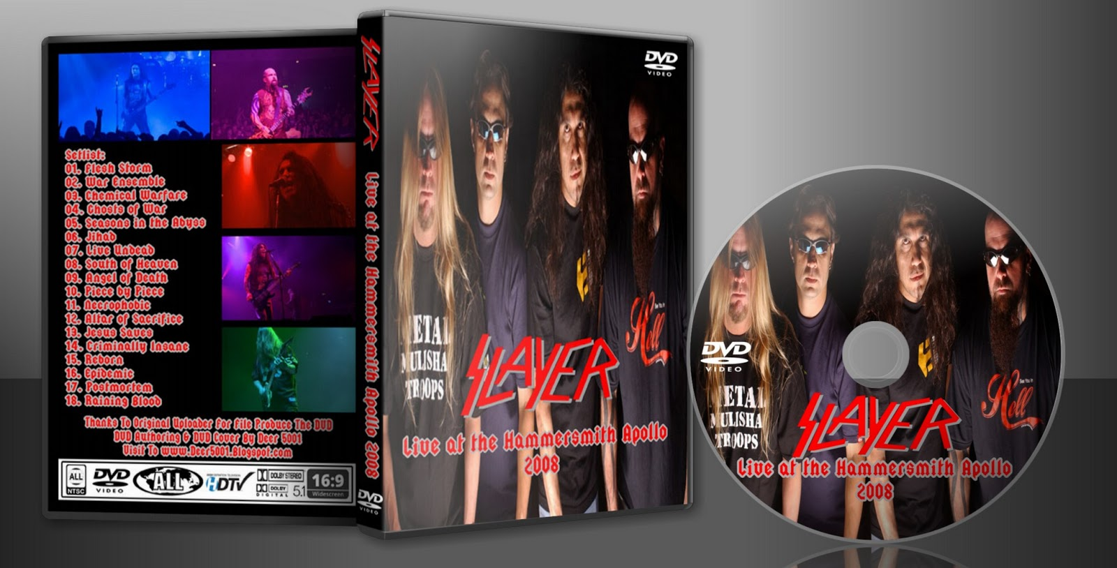 784f51d4683 Deer5001RockCocert : Slayer - 2008 - Live at the Hammersmith Apollo
