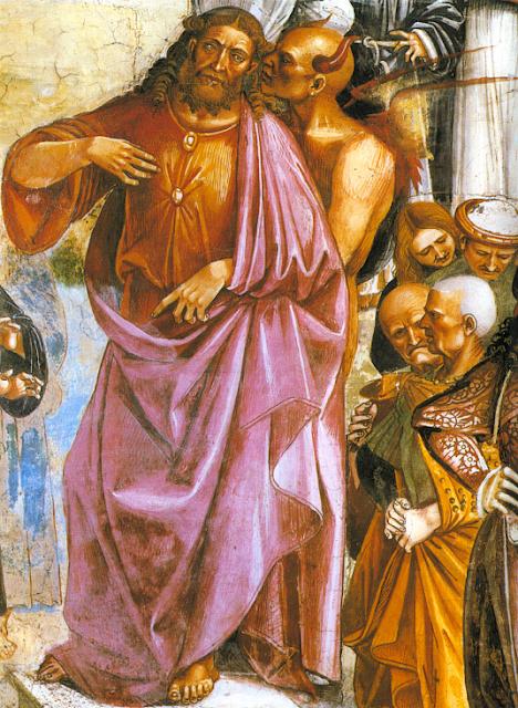 O fundo anti-humano do ecologismo radical evoca o atribuído por santos ao Anticristo. Luca Signorelli (1445 - 1523), basílica de Orvieto, Itália.