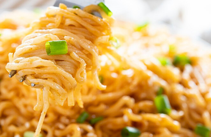 10 Minute Sesame Ramen Noodles recipe