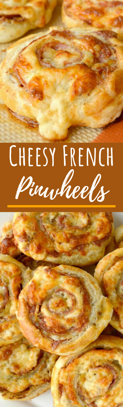 Cheesy French Pinwheels #apperizer #dinner