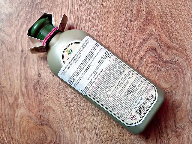 Receptury Babci Agafii - Szampon łopianowy przeciw wypadaniu włosów, opis opakowania